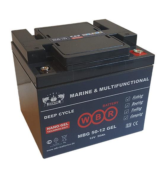 Аккумуляторная батарея WBR MBG 50-12 - фото