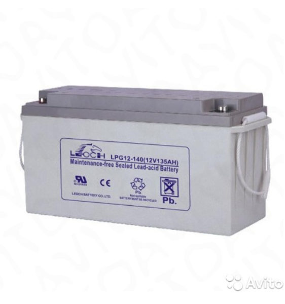 Аккумуляторная батарея Leoch LPG - фото