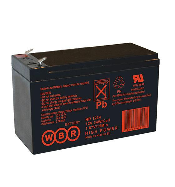 Аккумуляторная батарея WBR HR 1234W - фото