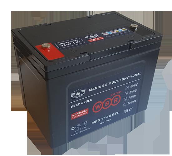 Аккумуляторная батарея WBR MBG 12 - фото