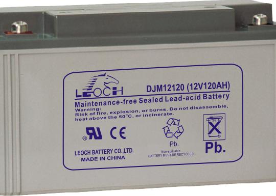 Аккумуляторная батарея Leoch DJM 12120 - фото