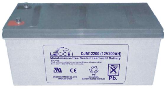 Аккумуляторная батарея Leoch DJM 12200 - фото