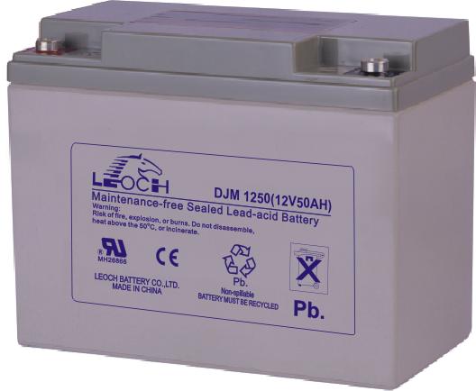 Аккумуляторная батарея Leoch DJM 1250 - фото
