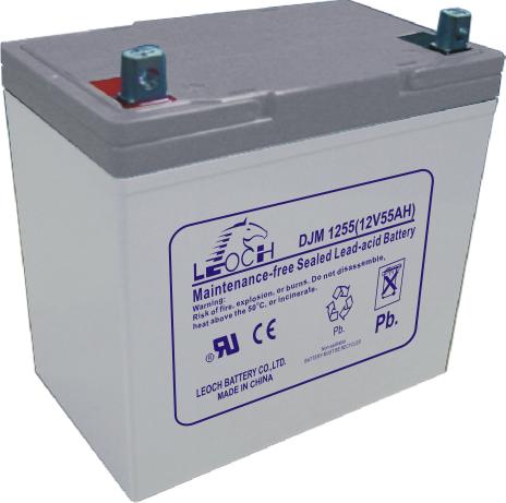Аккумуляторная батарея Leoch DJM 1255 - фото