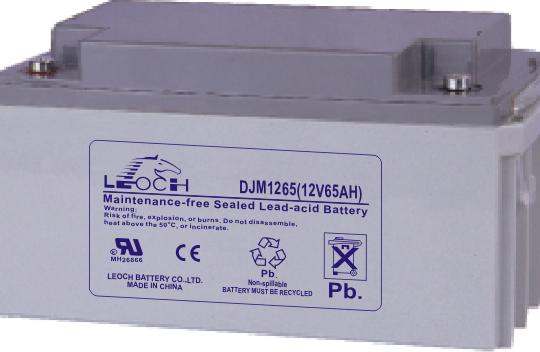 Аккумуляторная батарея Leoch DJM 1265 - фото