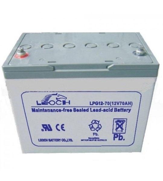 Аккумуляторная батарея Leoch LPG 12-70H - фото