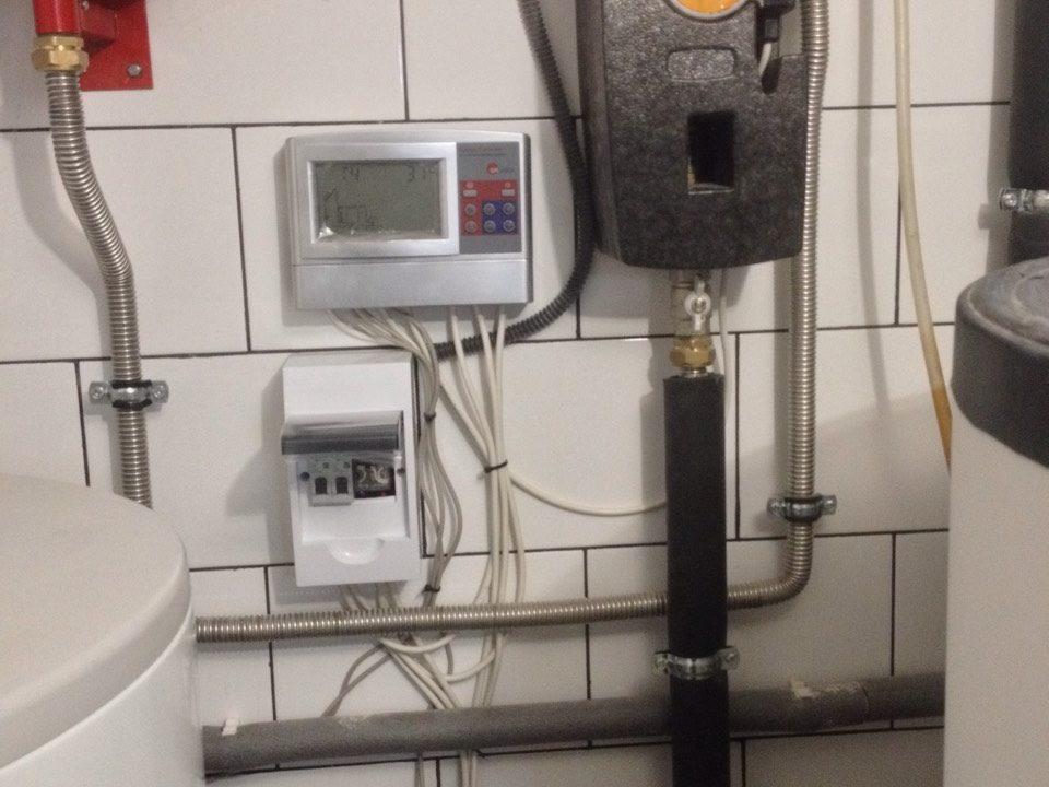 Гелиосистема ГВС и система отопления в г.Симферополь - фото14