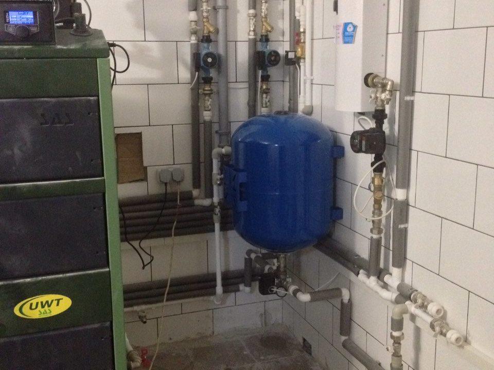 Гелиосистема ГВС и система отопления в г.Симферополь - фото2