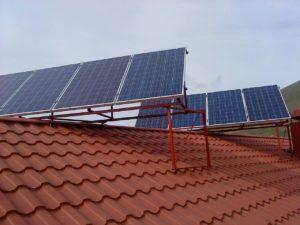 Гибридная солнечная электростанция в Судаке