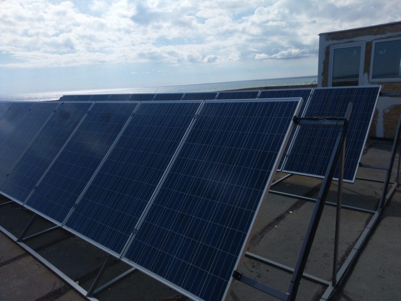 Автономная солнечная электростанция мощностью 5кВт - фото