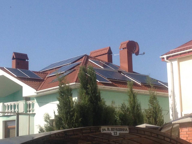 Гибридные системы энергосбережения в Севастополе для частного дома - фото