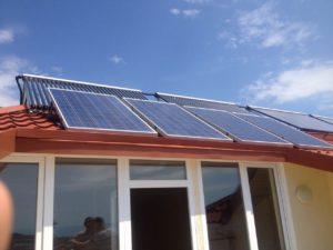 Комбинированная система резервного энергоснабжения и гелиосистема