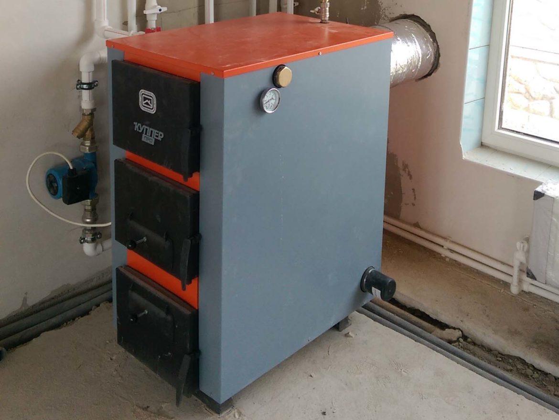 c. Аромат, гелиосистема, твердотопливный котел 42 кВт - фото