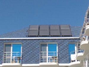 Гелиосистема для горячего водоснабжение 2000 литров в городе Саки