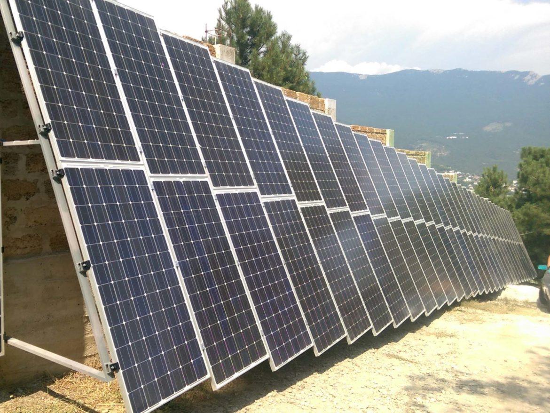 г. Ялта, частный дом, гибридная автономная электростанция 15 кВт-час - фото
