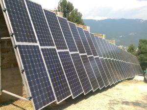 Гибридная автономная электростанция 15 кВт*час для частного дома в Ялте