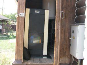 Монтаж пеллетного котла 24 кВт в селе Донсокое