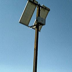 Система автономного освещения детских площадок (с.Красногвардейское) - фото