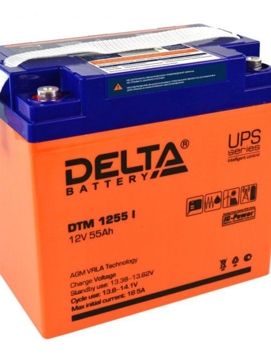 Аккумуляторная батарея Delta DTM 1255 I AGM- фото