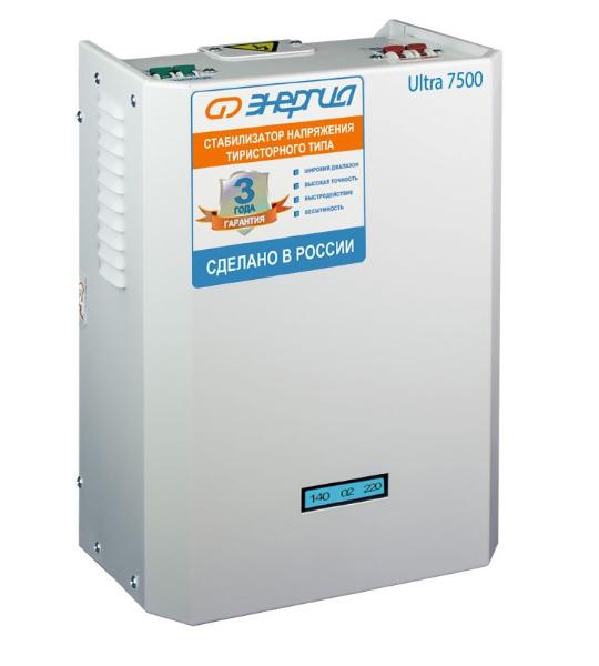 Стабилизатор Энергия Ultra 7500 - фото