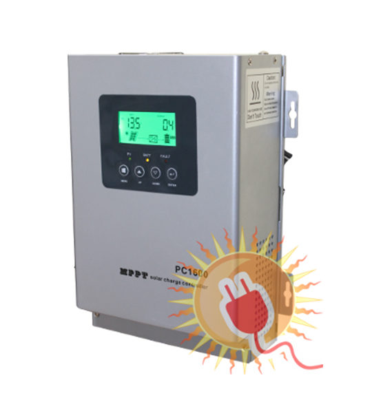 Контроллер заряда MPPT PC - фото