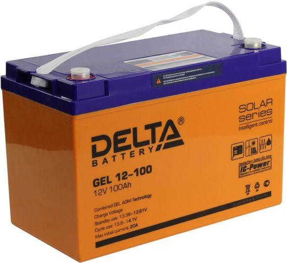 Аккумуляторная батарея Delta GEL 12- 100 - фото