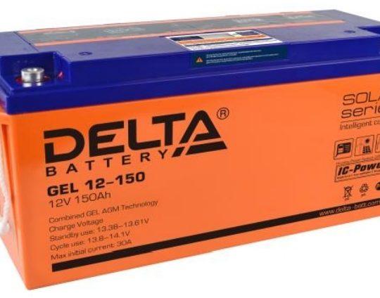 Аккумуляторная батарея Delta GEL 12- 150 - фото