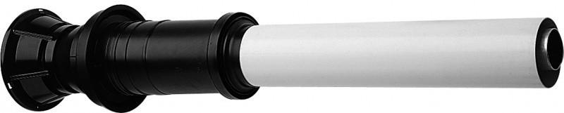 Вертикальный наконечник Baxi полипропиленовый для коаксиальной трубы, диам. 125/80 мм, НТ 93510 - фото