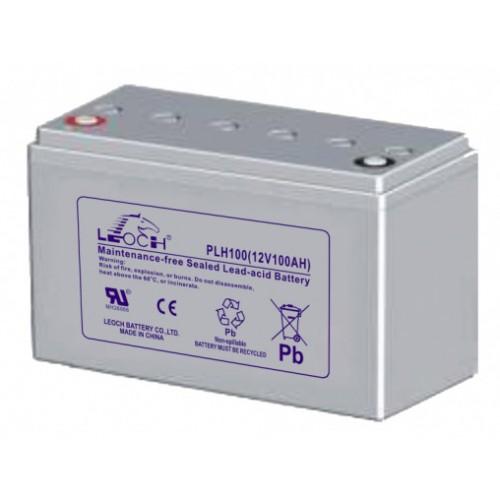 Аккумуляторная батарея Leoch PLH 100 GREY - фото