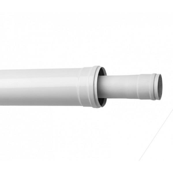 Коаксиальное удлинение труб 110 160 0,5м НТ KHG 714133710 - фото