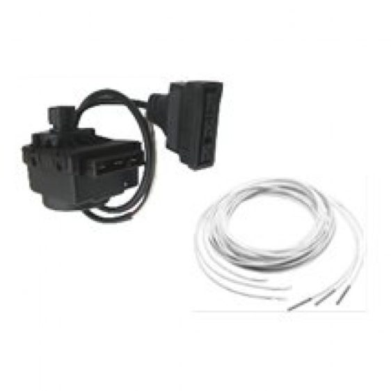 Комплект мотор 3-хходового + кабель + датчик бойлера к 1-конт. котлам Baxi Luna 3 - фото