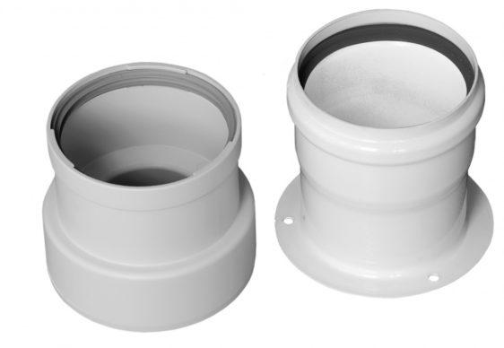 Переходной комплект на раздельные трубы диам. 80 мм НТ 24-30кВт 059110 - фото