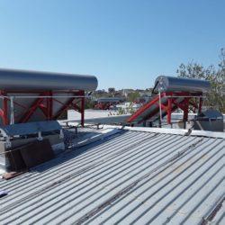 10 термосифонных установок по 200л в коттеджном поселке в г. Щёлкино фото 6