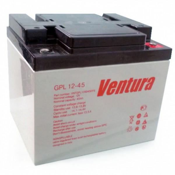 Аккумуляторная батарея Ventura GPL 12-45 - фото