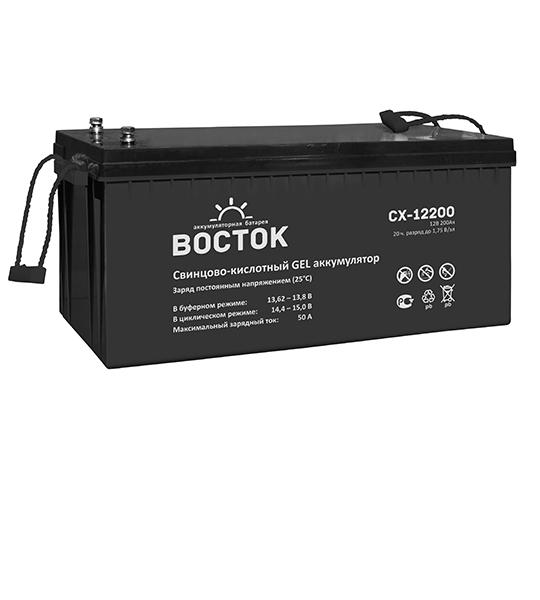 Аккумуляторная батарея Восток СХ 12200 GEL - фото