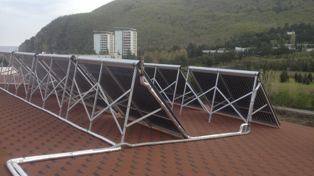 Автономное круглогодичное теплоснабжение гостиницы в Партените фото 6