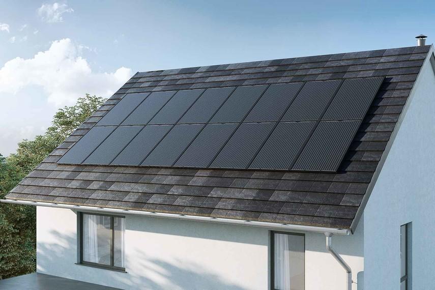 Nissan представил собственную солнечную крышу - фото