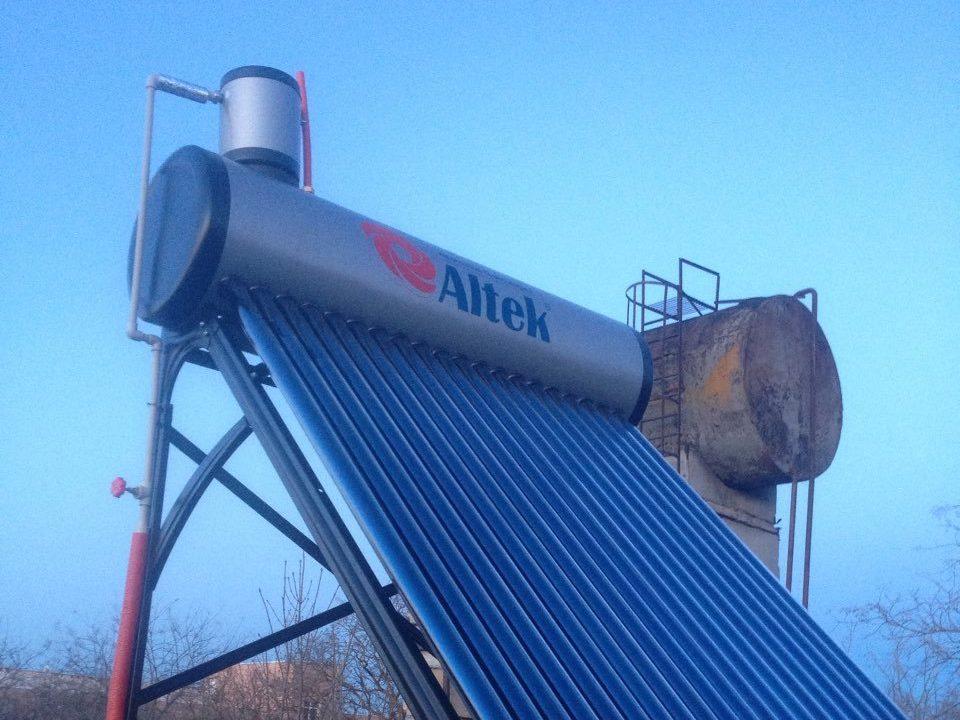 Сезонная система нагрева воды обеспечивающая горячее водоснабжение до 20 человек. фото - 3