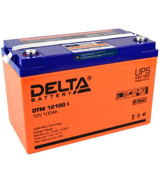 Аккумуляторная батарея Delta DTM 12100 I AGM - фото