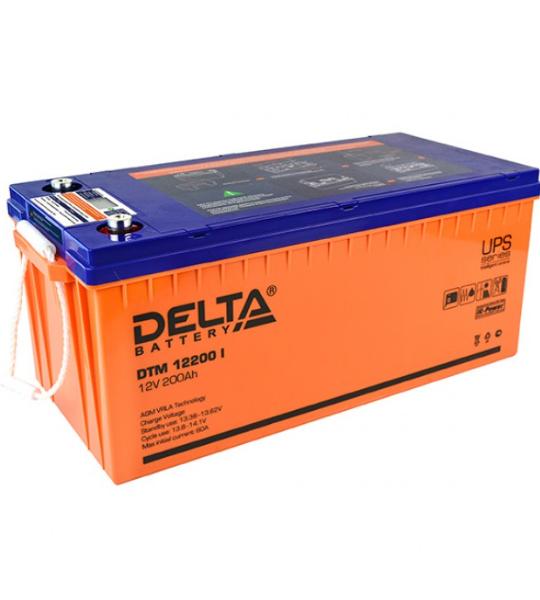 Аккумуляторная батарея Delta DTM 12200 I AGM - фото