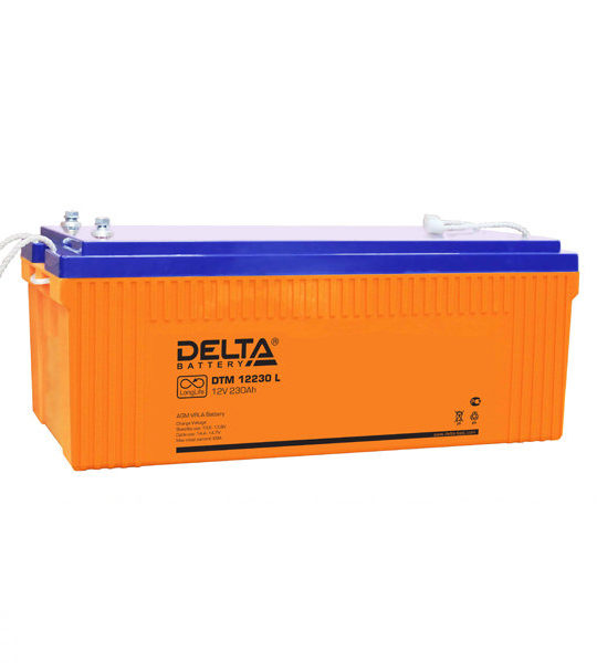 Аккумуляторная батарея Delta DTM 12230 L AGM - фото
