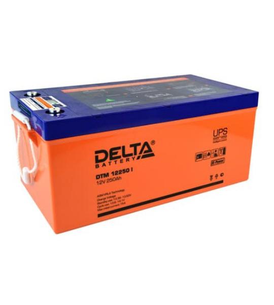Аккумуляторная батарея Delta DTM 12250 I AGM - фото