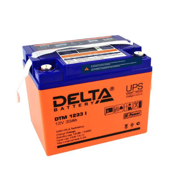 Аккумуляторная батарея Delta DTM 1233 I AGM - фото