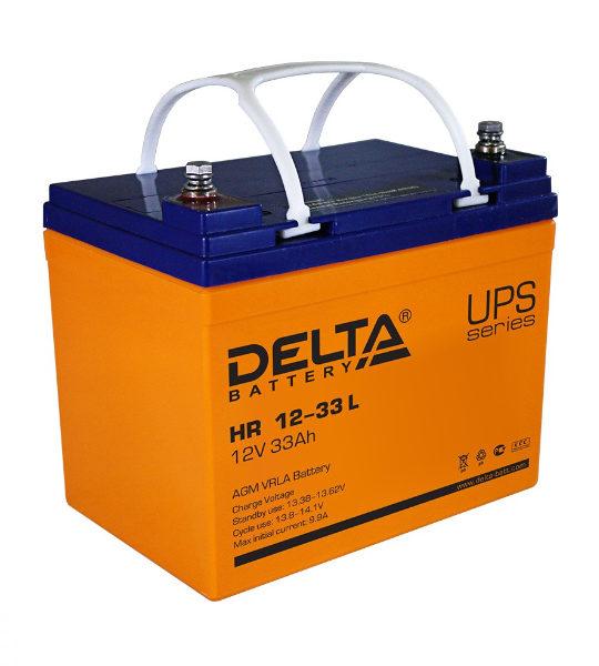Аккумуляторная батарея Delta HR 1233 L AGM - фото