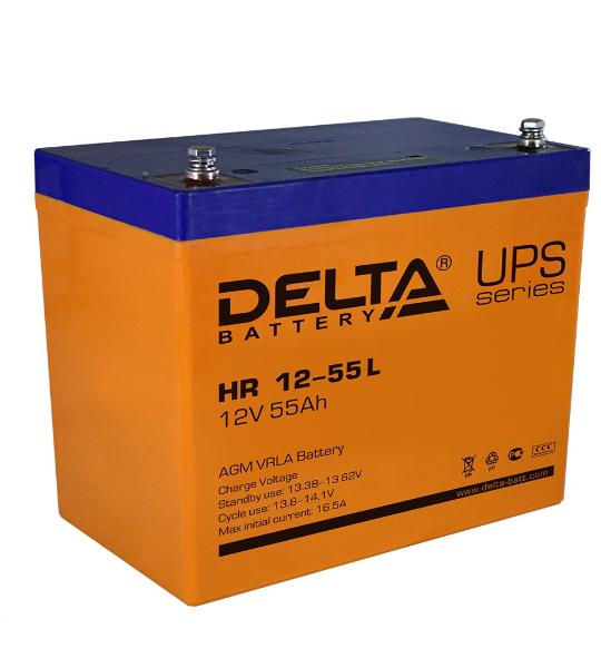 Аккумуляторная батарея Delta HR 1255 L AGM - фото