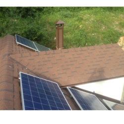 Круглогодичная автономная солнечная электростанция на 2,5 кВтч фото 1