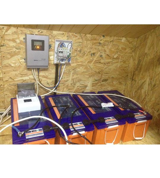 Круглогодичная автономная солнечная электростанция на 2,5 кВтч фото 3