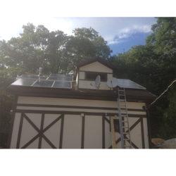 Круглогодичная автономная солнечная электростанция на 2,5 кВтч фото 4