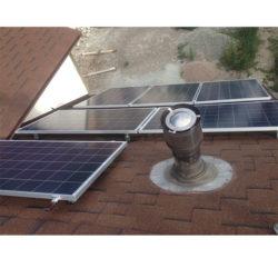 Круглогодичная автономная солнечная электростанция на 2,5 кВтч фото 6