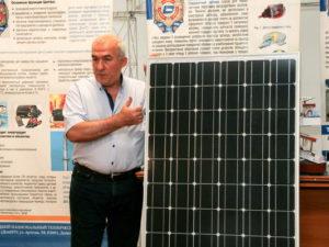 В ДонНТУ создали энергоблок солнечной электростанции